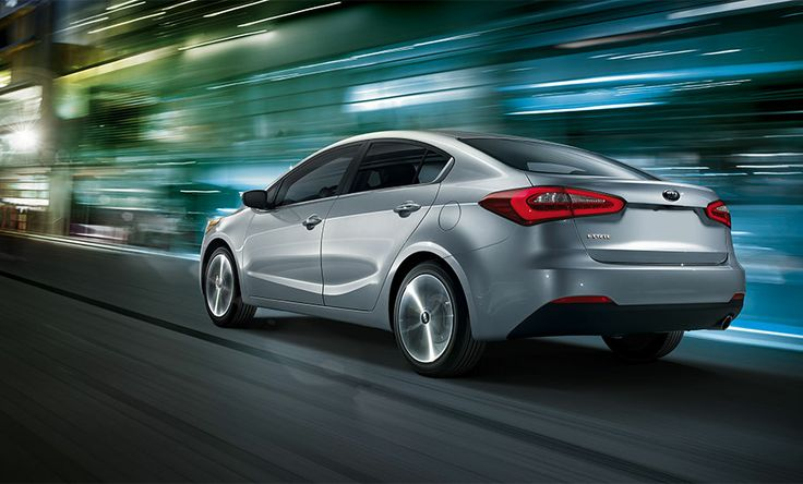 Kia Forte 4 Door Sedan SX in Bright Silver