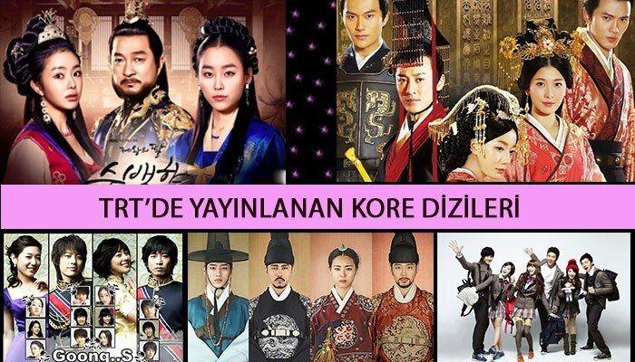 Trt De Yayinlanan Eski Ve Yeni Kore Dizileri Savascilar Sarkilar Romantik