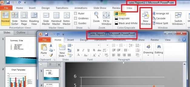 How to Edit a PowerPoint Presentation in Two Windows #powerpoint #tips