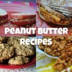 Peanut Butter Recipes! --PBFingers