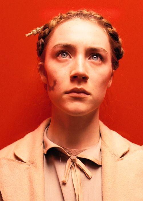 Saoirse Ronan as Agatha in The Grand Budapest Hotel