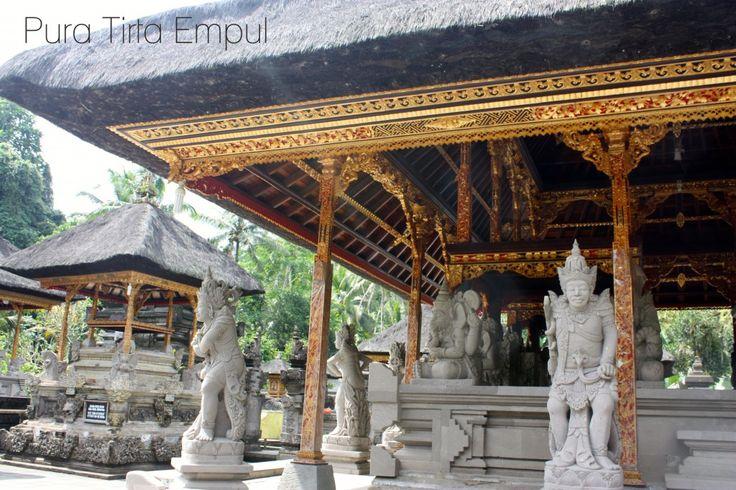 Pura Tirta Empul. Beautiful temple in Bali, Indonesia
