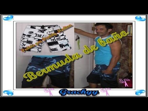 "Como confeccionar bermudas, ""Peticion"" - YouTube"