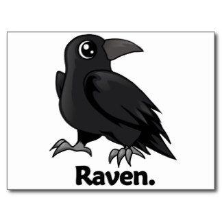 Ravenclaw Raven