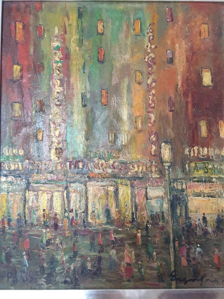 Paris, Eugene Spiro