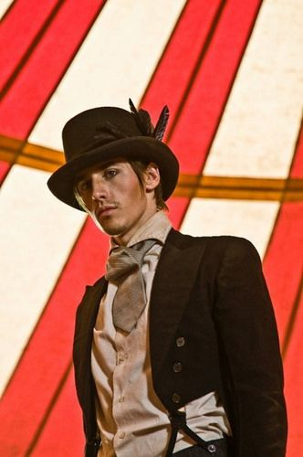 """Reeve Carney as Mr. Green-CARNEY    The filming of """"Love Me Chase Me"""""""