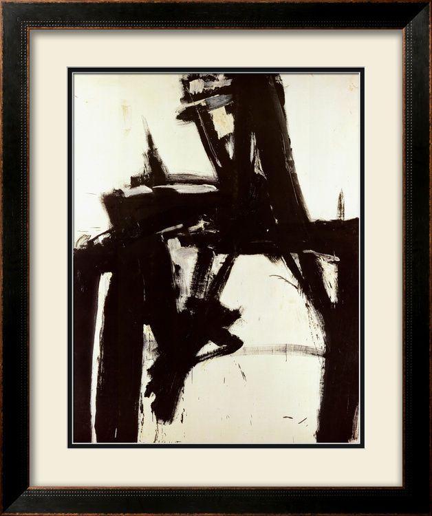 Untitled, 1957 Framed Art Poster Print by Franz Kline, 39x48 #DoesnotApply
