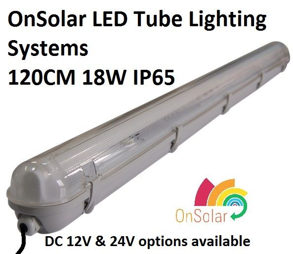 120CM IP65 / waterproof T8 LED Strip Lights in 12V and 24V DC options 1450 lumen  sc 1 st  Pinterest & 98 best Off Grid DC Lighting For Micro u0026 Shipping Container Homes ... azcodes.com