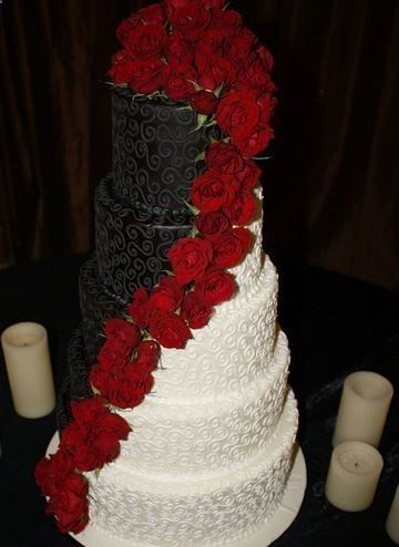 6f8077068d4 18 Black and Red Wedding Color Ideas | Wedding Inspirations | Black ...