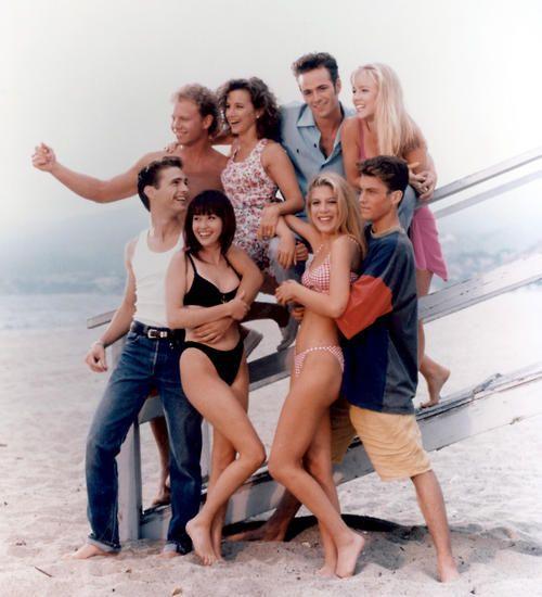 "Beverly Hills 90210 - All I have to say is ""DA-NA-NA-NA...DA NA NA NA (click click) and you know exactly what I'm talking about!"