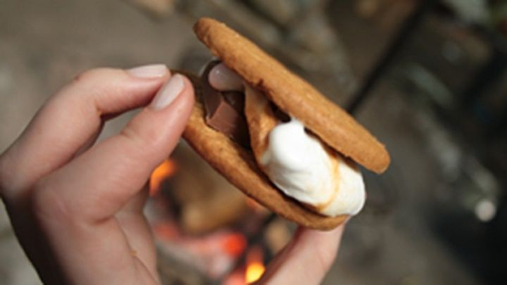Cool Camping - S'mores