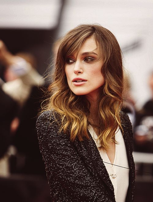 Not sure if I like this hair because of the hair, or because it's Keira Knightley. #girlcrush
