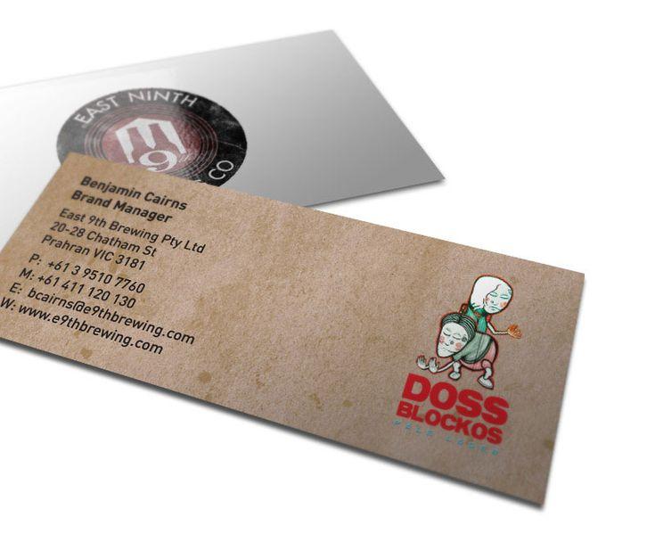Doss Blockos Business Cards: Designbusi Cards, Design Business Cards