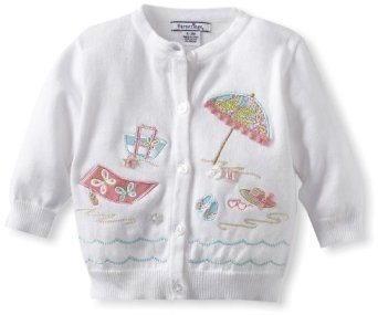 Pusat Jual Grosir Baju Bayi - Hartstrings Bayi-Bayi Perempuan Pantai Motif Cardigan Sweater | Pusat Baju Bayi Terbesar dan Terlengkap Se indonesia