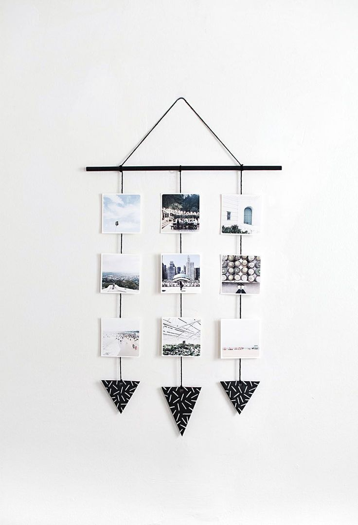 DIY Photo Wall Hanging