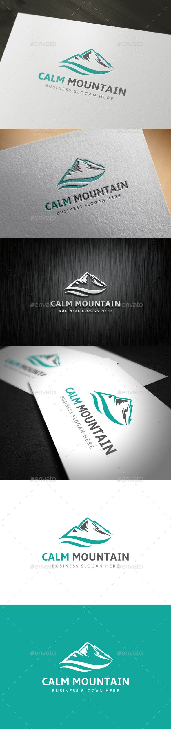 Mountain Logo Template PSD, Vector EPS, AI Illustrator #logotype Download here: http://graphicriver.net/item/mountain-logo/14122547?ref=ksioks