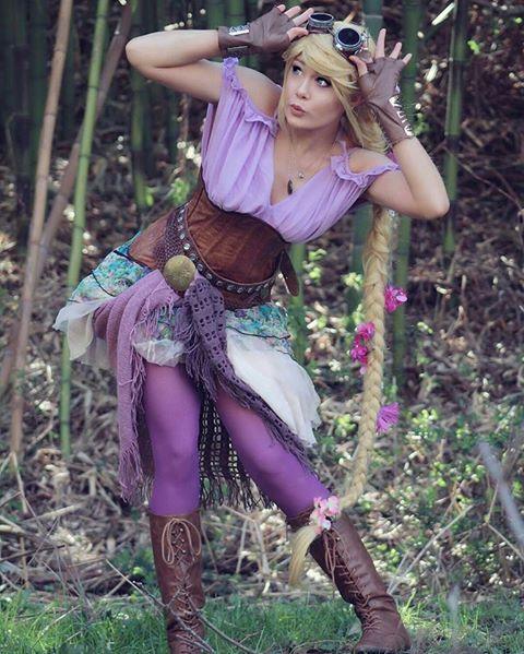 (99) Steampunk Tendencies - Rapunzel cosplay by Caitlin Stewart