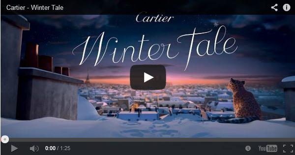 """Luxury Brands #Digital #Strategy: Cartier, Winter Tale. Cum ti-ai apropiat clientii de #Craciun? """"Focusing on the #story... """""""