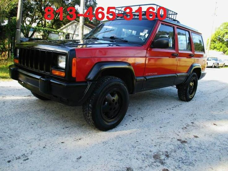 This 1997 Jeep Cherokee Sport is listed on