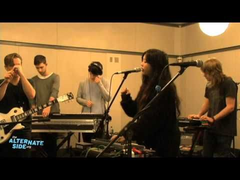 "The Naked and Famous - ""Young Blood"" (Live at WFUV)  // cannot get enough of this sound."