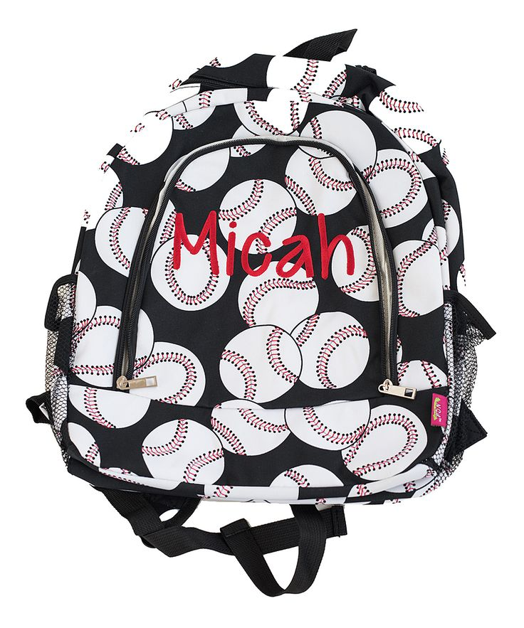 Baseball Personalized Backpack