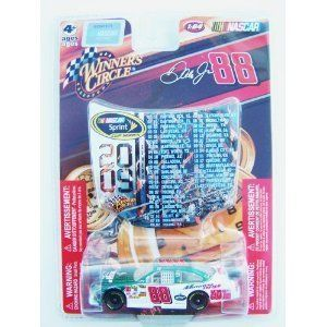 Dale Earnhardt Jr #88 Amp National Guard Green White Die-cast Car 1/64 Scale Winner's Circle with Mini Hood Magnet 2009 Sprint Cup by Winner's Circle. $1.95. 1:64 Scale Die-cast Car. Car: Green/ White. For Ages 4 & up. Includes Mini Car Hood Magnet Featuring the 2009 Sprint Cup Schedule. Dale Earnhardt Jr. die-cast car