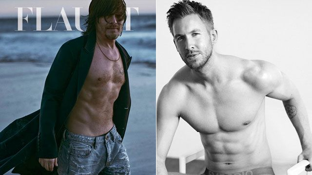 Singer/songwriter Calvin Harris can now add SUPER sexy underwear model to his resume. Harris showed off his ripped physique in the Emporio Armani underwear ads for their Spring/Summer 2015 campaign.