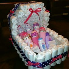 Cutest diaper cake ever!