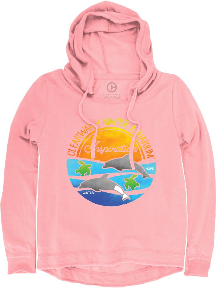 SeeWinter Store - Inspiration Vintage Washed Coral Hoodie, $39.99 (http://cmastore.seewinter.com/inspiration-vintage-washed-coral-hoodie/)