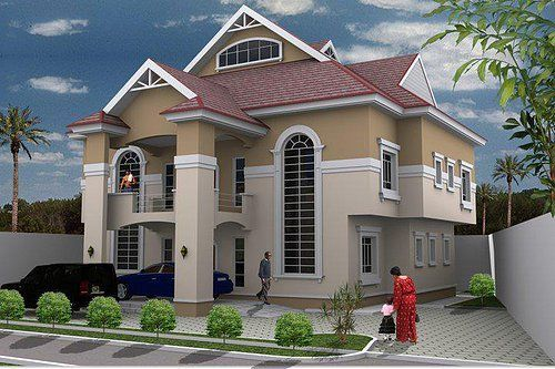 3 Bedroom Duplex Designs In Nigeria In 2019 Duplex