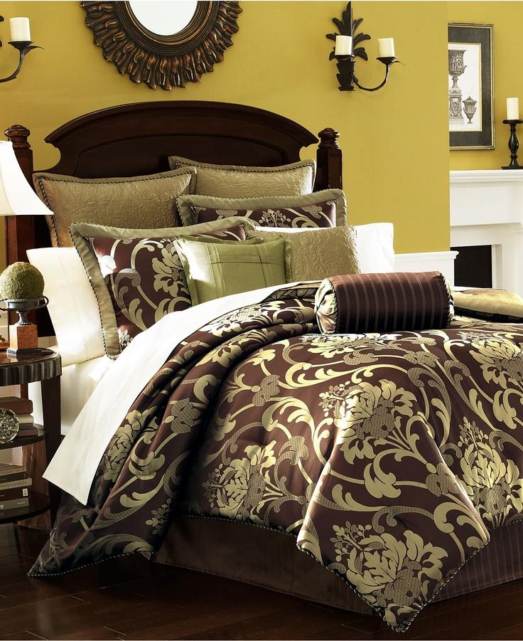 33 best green and brown bedding images on pinterest bedroom ideas bedroom decor and blankets. Black Bedroom Furniture Sets. Home Design Ideas