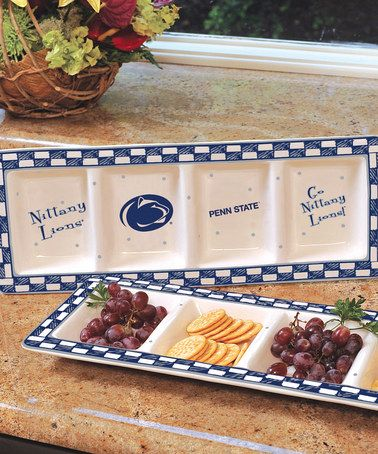 Take a look at this Penn State Game Day Relish Tray by The Memory Company on #zulily today!