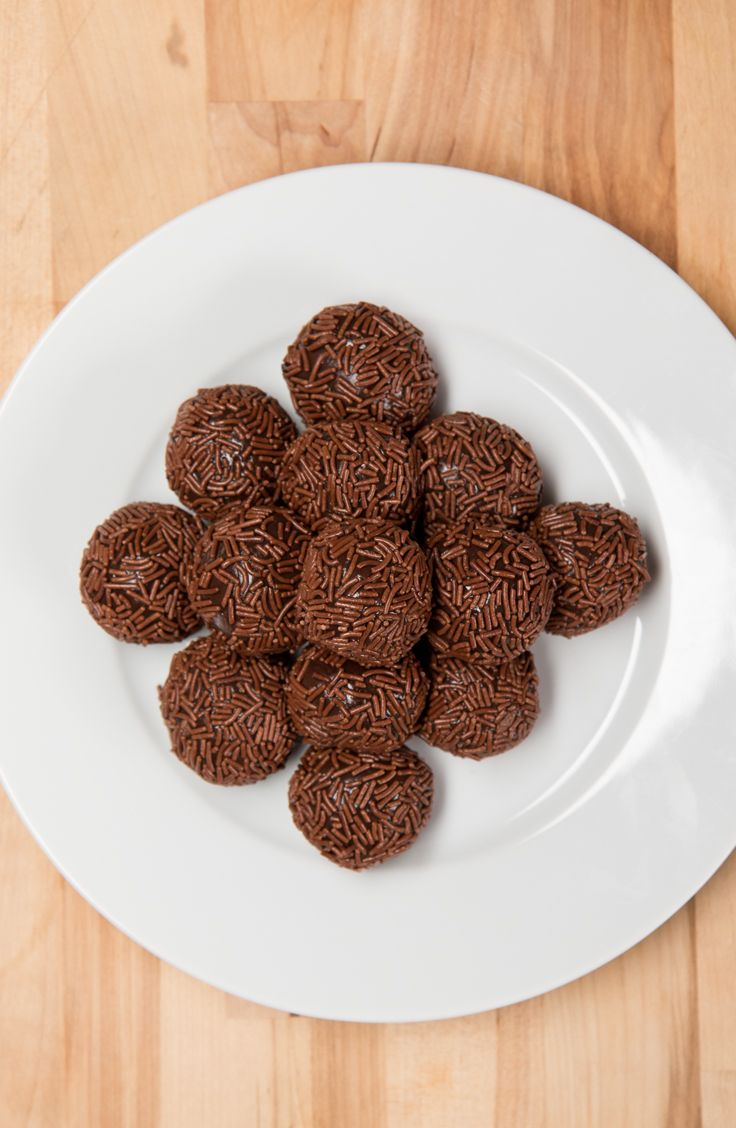 3-Ingredient Brazilian Truffles // Brigadeiros