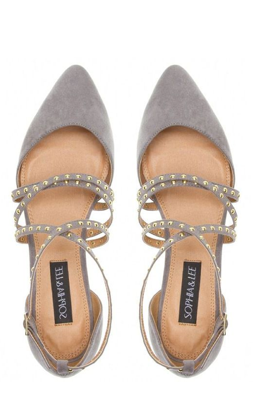 Strappy Studded Flats ♥