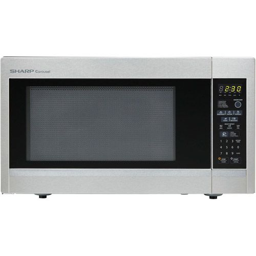Sharp R559YW Carousel 1.8 cu ft 1100W Countertop Microwave Oven Price