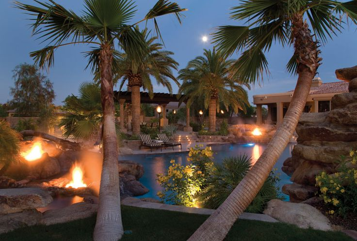 Red Rock Pools and Spas in Gilbert, AZ | Luxury Pools Magazine
