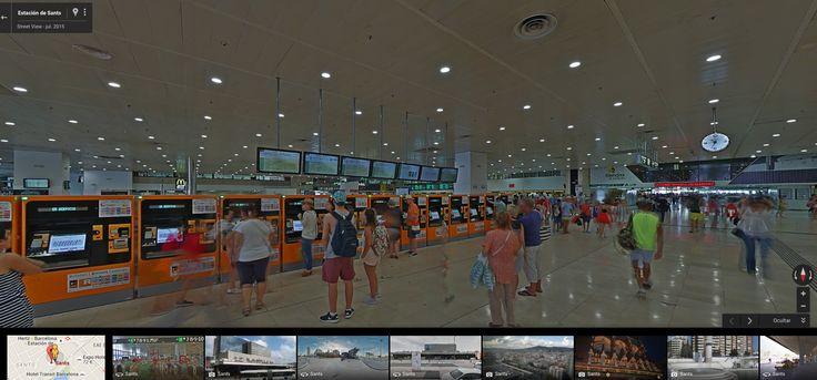 Desde ahora ya podrás pasearte por algunas de las principales estaciones de Renfe en España a través de Google Street View. Por el momento está...