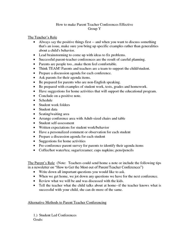 parent letter from teacher template - 19 best images about parent teacher conference on