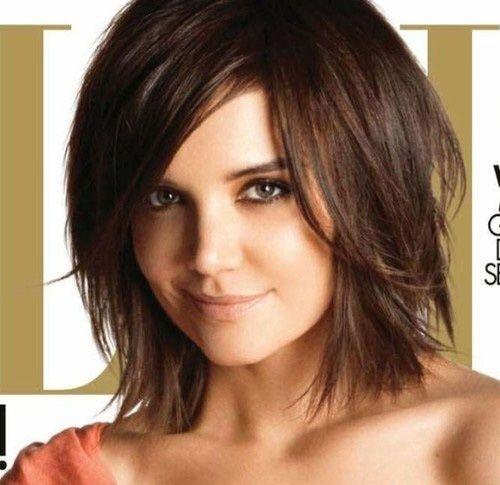 2013 Chin to Shoulder Length Hair Cut - Woman   Shoulder Length Bob-4