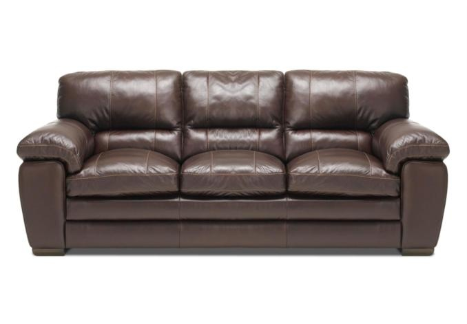 Enjoy Flexibility From Your Furniture With This Multipurpose Settee Comfortable Leather Sofa Has A Manual Recliner And Pull Out Bed For Ove