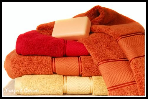 Get rid of yucky towel smell