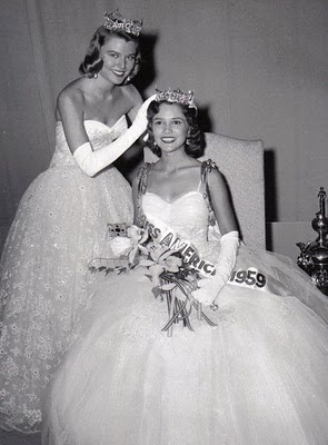 Mary Ann Mobley, Miss America 1959, from Mississippi, my Mother's home state. My favorite Miss America ever..