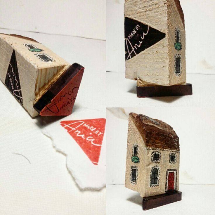 #handmade #stamps #logo #house #wood #pieczątki #dom #gift #idea #sculpture #art