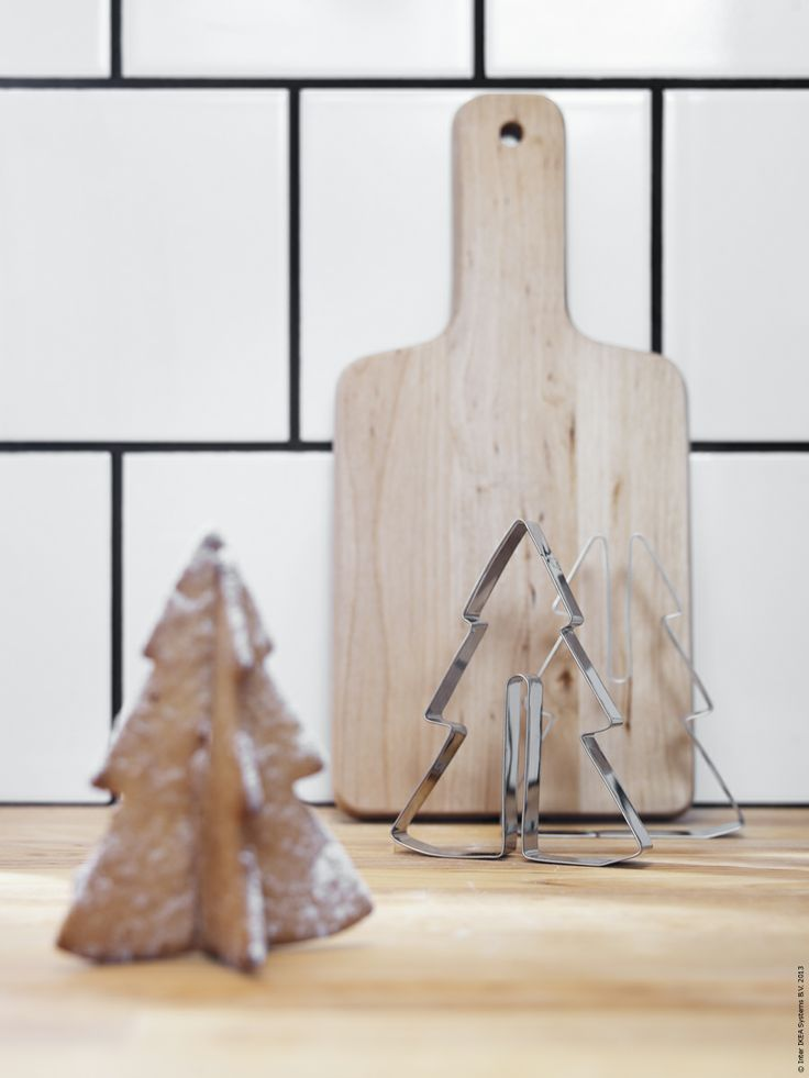 Jul på IKEA 2013: SNÖKUL pepparkaksformar.