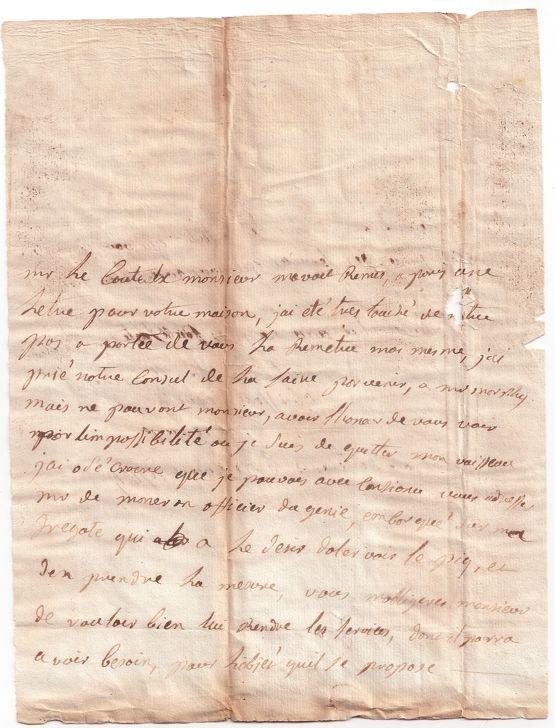 perouse+carta+02.Carta original de La Pérouse a Tomás Cólogan Valois (II)