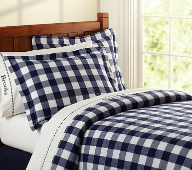 Buffalo Check Flannel Bedding Flannel Duvet Cover Plaid