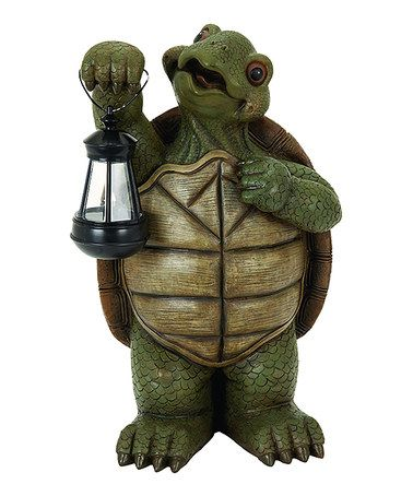 Another great find on #zulily! LED Polystone Turtle Decoration #zulilyfinds
