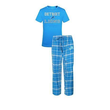 NFL Detroit Lions Halftime Pajama Gift Set