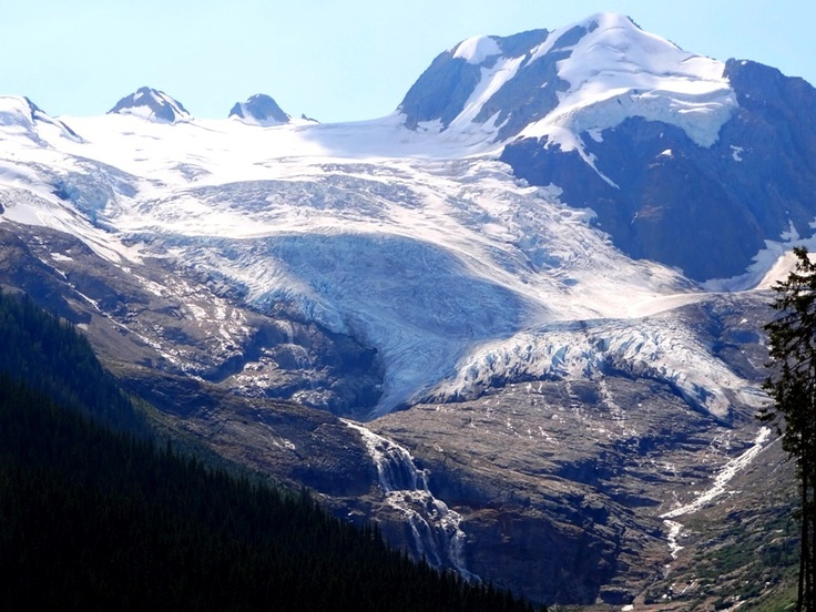 Commander Glacier in the Purcell Glaciers, Sport and adventure region: Kootenay BC