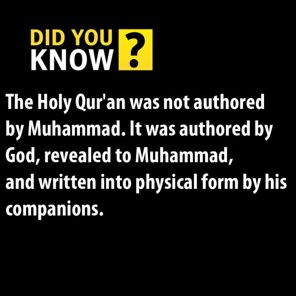 Islamic Facts about Quran